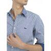 Camisa con Micro Patrón
